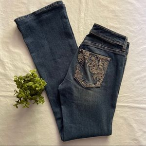 White House Black Market Boot Leg Jeans